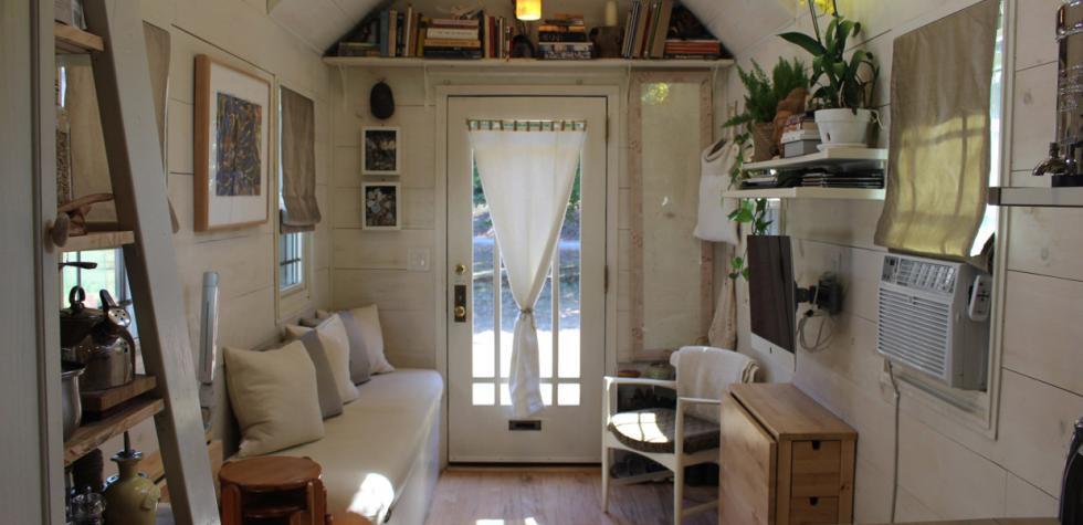 Comodidad y estilo en esta pequeña casa