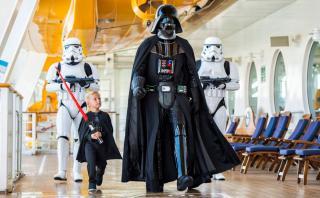 Diviértete en un crucero junto a los personajes de Star Wars