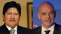 Edwin Oviedo se manifestó sobre apoyo a Infantino en la FIFA