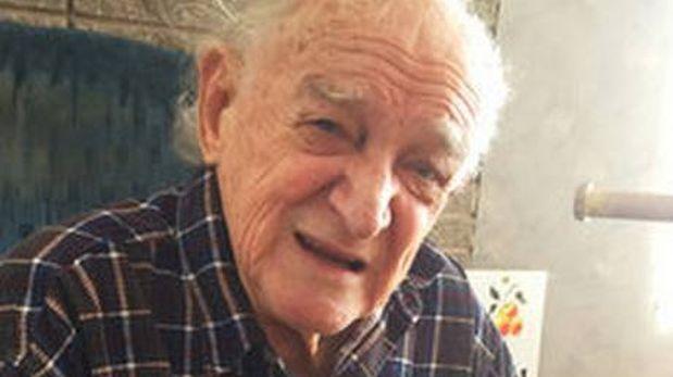 Bob Ebeling, de 89 años, en su casa en Brigham City, Utah, EE.UU. (Foto: Howard Berkes / NPR)