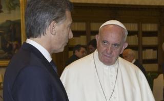 La fría y formal cita entre el papa Francisco y Macri [FOTOS]