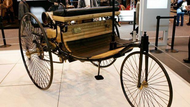 Este Motorwagen es de 1886. En ese entonces costaba el equivalente de unos US.000. (Foto: Getty)