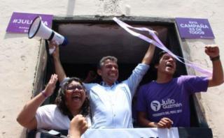 Julio Guzmán: admiten nueve tachas contra Todos por el Perú