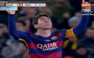 Lionel Messi anotó para Barcelona con sensacional tiro libre