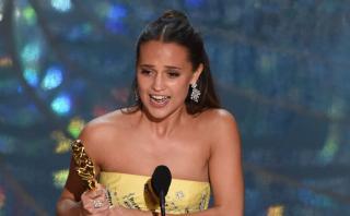 Oscar 2016: Alicia Vikander ganó como mejor Actriz de Reparto