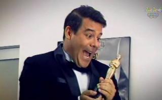 Latina presentó el Oscar al estilo de Hollywood