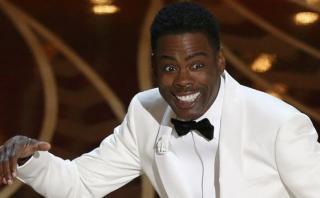 Chris Rock mostró en Twitter lo que pasó detrás del Oscar 2016