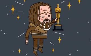 Gif muestra el camino de Leonardo DiCaprio hacia el Oscar