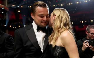 Leonardo DiCaprio gana el Oscar y Kate Winslet reacciona así