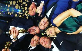 Spotlight triunfó como mejor filme y actores lo celebraron así