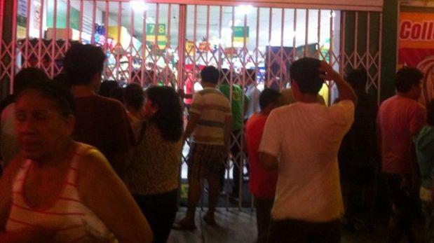 Los delincuentes lograron llevarse las ventas del día de la librería de Breña. (Foto: Twitter)