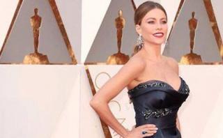Sofía Vergara se dejó conquistar por este actor en los Oscar