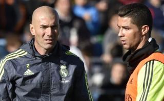 Zidane confirmó que Cristiano dio explicaciones al Real Madrid