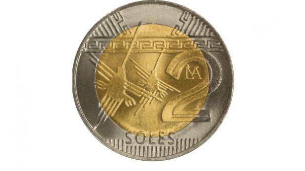 Así luce la nueva moneda de 2 soles acuñada por el BCR