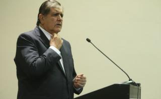 Datum acusa a Alan García de difamación y lo enjuiciará