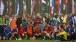 Nuevo presidente de la FIFA asumió cargo jugando fútbol [FOTOS] - Noticias de fabio cannavaro