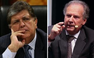 Alfredo Barnechea y Alan García se enfrentan por el Apra
