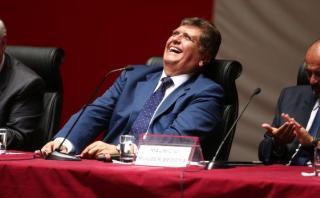 """Alan García sobre eventual juicio de Datum: """"Que actúe"""""""