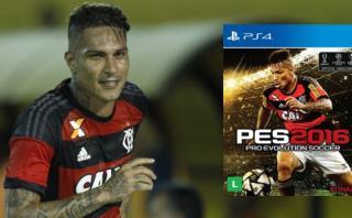 Paolo Guerrero es portada especial del PES 2016 en Brasil
