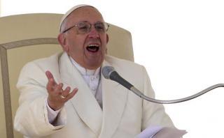 """Francisco: La Iglesia no quiere """"dinero sucio"""" de explotadores"""