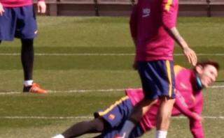 Lionel Messi participó en 'camotito' y esto le pasó [VIDEO]