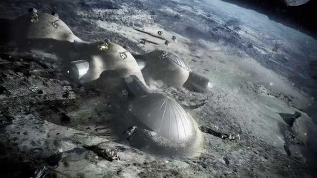 ¿Cómo será la primera base lunar? Tienes que ver este video