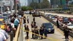 Vía Expresa: reconstruyen asalto en que cambista murió baleado - Noticias de vargas benavides