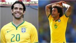 Brasil: Dunga convocó a Kaká pero dejó fuera a Marcelo