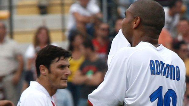 La llamada que acabó con carrera de Adriano contada por Zanetti
