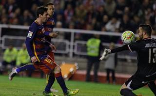 Lionel Messi: mira el 'hat-trick' del argentino ante el Rayo
