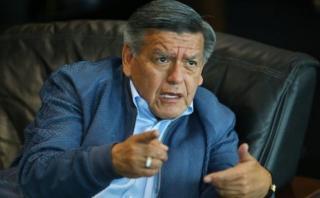 César Acuña apelará la resolución que lo excluye del proceso