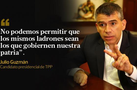Julio Guzmán y sus frases sobre el fallo del JEE en su contra