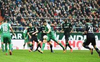 Con gol de Pizarro: Bremen goleó 4-1 a Hannover por Bundesliga