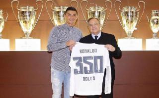 Cristiano Ronaldo: mira cómo celebró en Facebook su gol 350