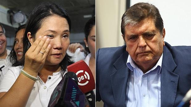 Presentan tachas contra candidaturas de Keiko y García