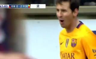 Lionel Messi anotó golazo que inició en el mediocampo [VIDEO]