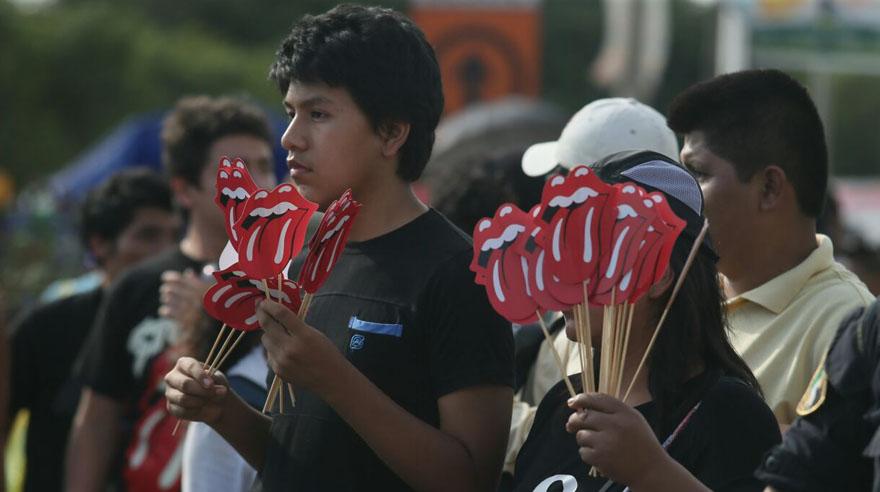El concierto de los Rolling Stones en Lima. (Foto: Lino Chipana/ El Comercio)