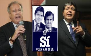 Alfredo Barnechea y Alan García: de compañeros a rivales