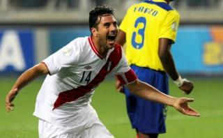 """Claudio Pizarro: """"Jugar el Mundial con Perú es mi gran sueño"""""""