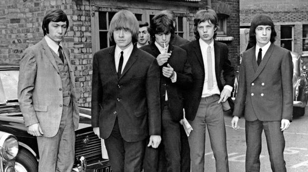 Un imagen de 1965 de los Rolling Stones. De izquierda a derecha: Charlie Watts, Brian Jones, Keith Richards, Mick Jagger y Bill Wyman. (Foto: AFP)