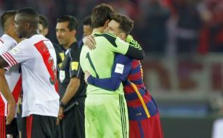 """El gesto de Messi con Barovero que dejó al arquero """"admirado"""""""