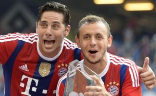 Rafinha del Bayern advierte peligrosidad de Claudio Pizarro