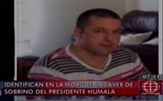 Confirman muerte de sobrino del presidente Ollanta Humala