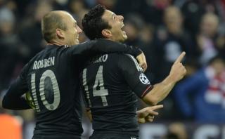 """Robben sobre Pizarro: """"No me sorprende que aún tenga calidad"""""""