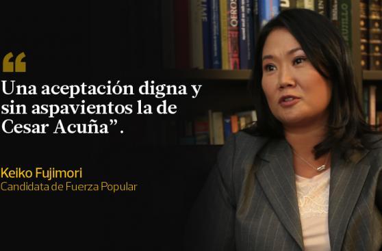 Candidatos se pronunciaron sobre salidas de Guzmán y Acuña