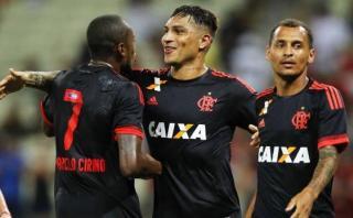 Paolo Guerrero marcó en empate 1-1 de Flamengo con Figueirense