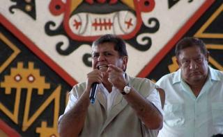 """Alan García: """"Es un riesgo excluir candidatos en esta etapa"""""""