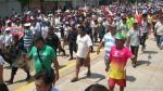 Ucayali: 11 detenidos y un herido en huelga regional indefinida - Noticias de saenz pena