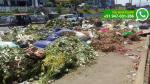 Acumulación de basura genera congestionamiento vehicular - Noticias de nicolas ayllon