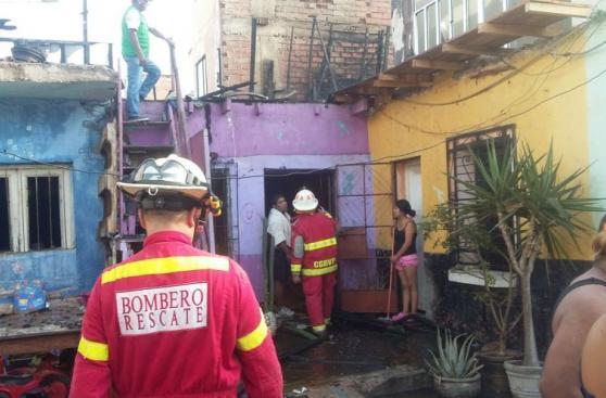 Callao: incendio afectó seis viviendas en Jr. Loreto [FOTOS]